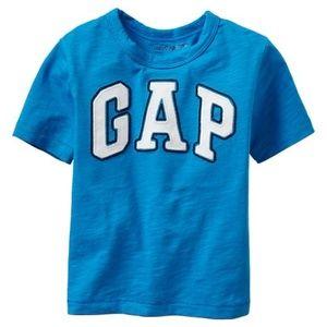 Baby Gap shirt GAP arch logo top blue